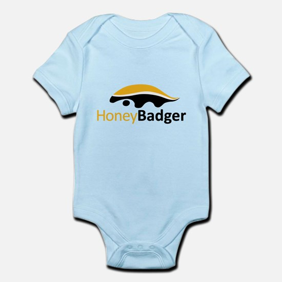 Honey Badger Logo Infant Bodysuit