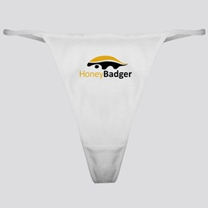 Honey Badger Logo Classic Thong
