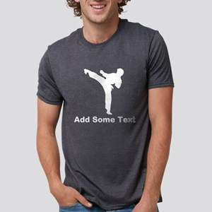 Karate School Mens Tri-blend T-Shirt