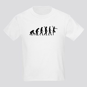 Ballet Ballerina evolution Kids Light T-Shirt