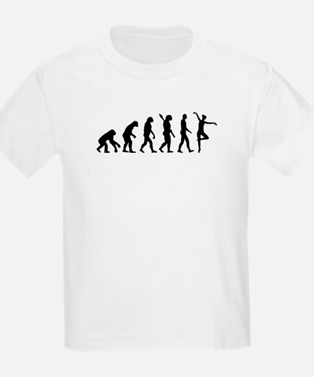 Ballet Ballerina evolution T-Shirt