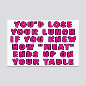 Lose your lunch - Mini Poster Print
