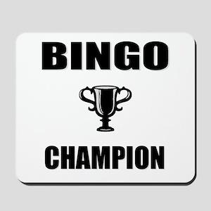 bingo champ Mousepad