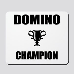 domino champ Mousepad
