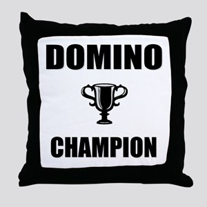 domino champ Throw Pillow