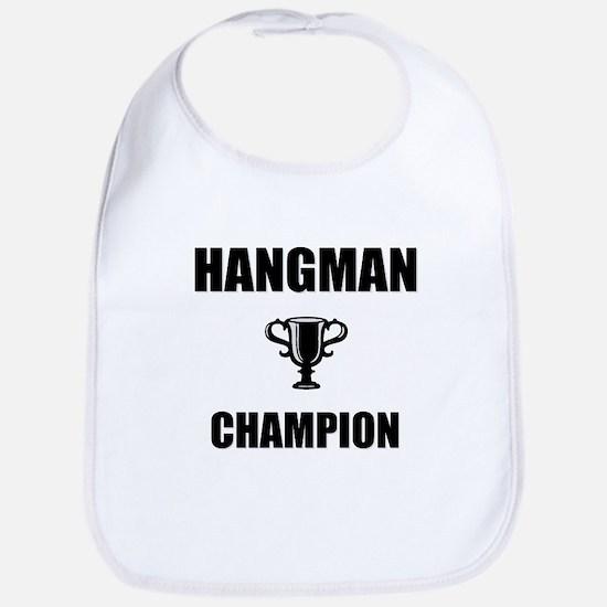 hangman champ Bib