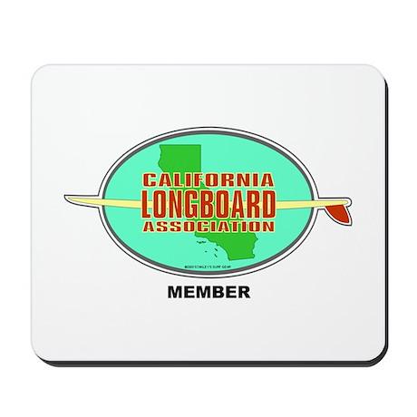 Cal Longboard Assoc. Mousepad
