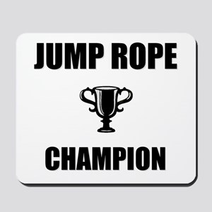 jump rope champ Mousepad