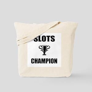 slots champ Tote Bag