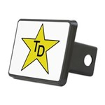 TD Star Rectangular Hitch Cover