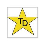 TD Star Square Sticker 3