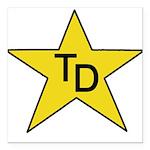 TD Star Square Car Magnet 3