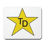 TD Star Mousepad