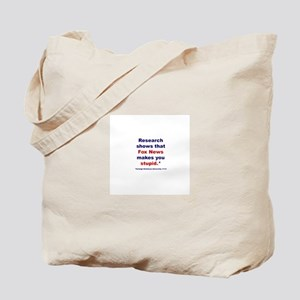 Research shows Tote Bag