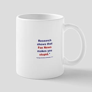 Research shows Mug