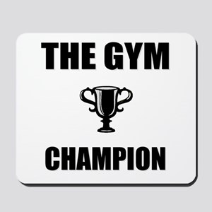 gym champ Mousepad