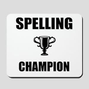 spelling champ Mousepad