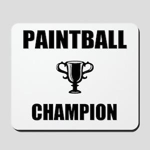 paintball champ Mousepad