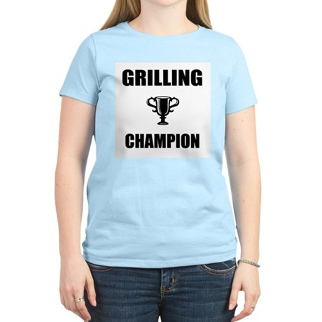 grilling champ Women's Light T-Shirt