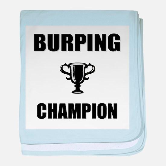 burping champ baby blanket