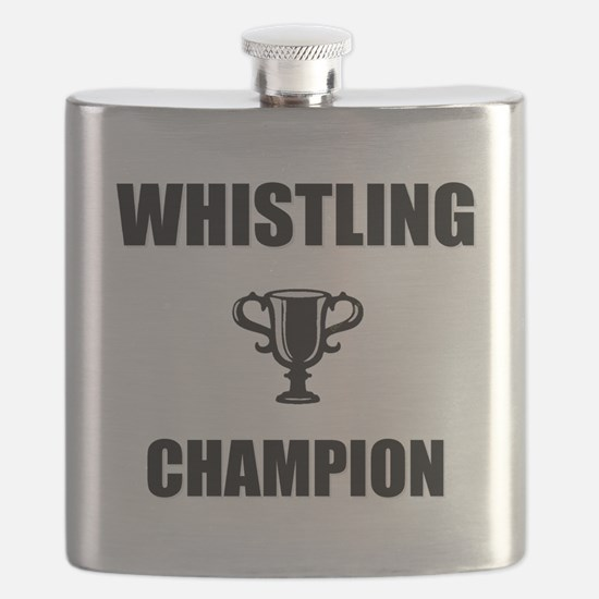 whistling champ Flask