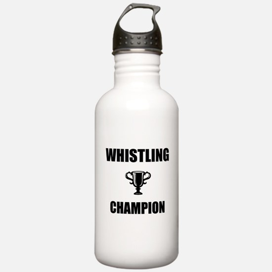 whistling champ Water Bottle
