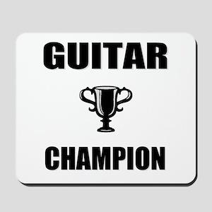 guitar champ Mousepad