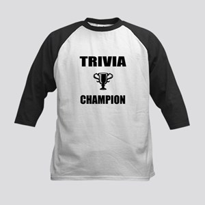trivia champ Kids Baseball Jersey