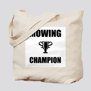 mowing champ Tote Bag