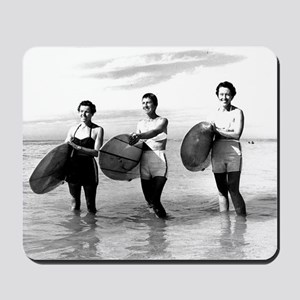 1st Surfer Girls Mousepad