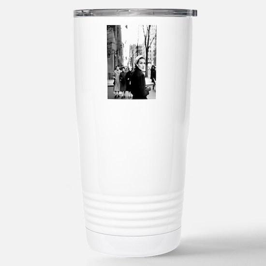 5th Avenue Stroll Stainless Steel Travel Mug