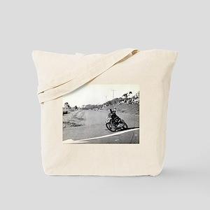 Motorcycle Race # 10 Tote Bag