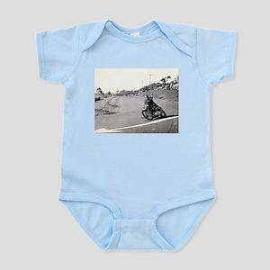 Motorcycle Race # 10 Infant Bodysuit