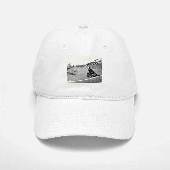 Motorcycle Race # 10 Baseball Baseball Cap