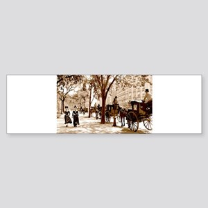 New York Vintage Sticker (Bumper)