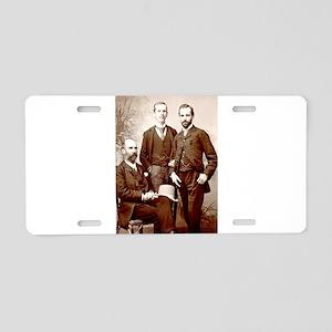 The Gentle men Aluminum License Plate