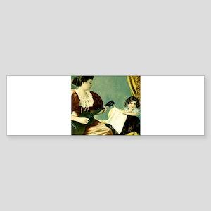 Antique Music Lesson Sticker (Bumper)