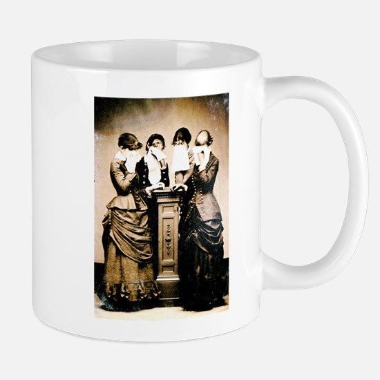 Four Women Crying Mug