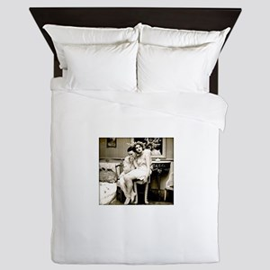 xx Vintage Kisses xx Queen Duvet