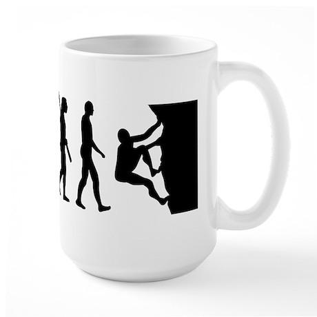 Evolution climbing Large Mug