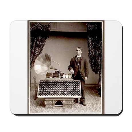 The Phonograph Mousepad