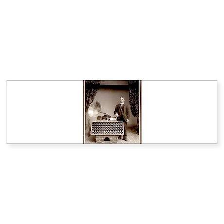 The Phonograph Sticker (Bumper 10 pk)