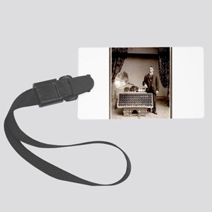 The Phonograph Large Luggage Tag