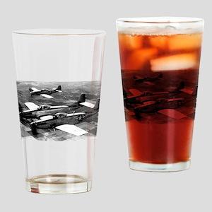 Propeller Planes Drinking Glass