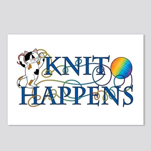 Knit Happens (Cat) Postcards (Package of 8)