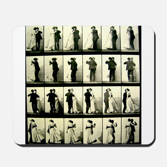 Vintage Dance Sequence Mousepad