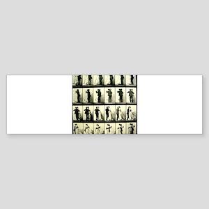 Vintage Dance Sequence Sticker (Bumper)