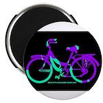 80s Style Bicycling Stivker Magnet