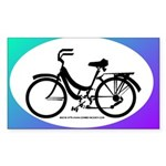 Bicycle Decal Sticker (Rectangle)