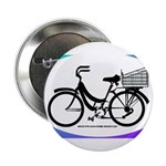 Bicycle Decal with basket 2.25